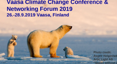Vaasa Climate Change Conference and Networking Forum 2019